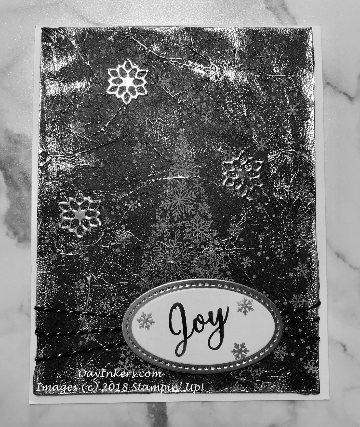 Delightful Paper Pumpkin Christmas Card