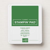 Stampin' Up! Garden Green Classic Ink Pad