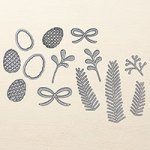 Stampin' Up! Pretty Pines Thinlits