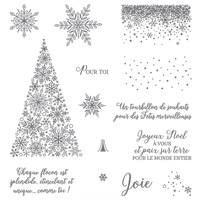 Stampin' Up! Snow is Glistening
