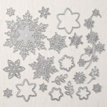Stampin' Up! Snowfall Thinlits