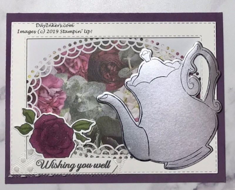 Stampin' Up! Tea Together and Sale-a-Bration card