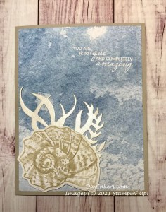 Friends are Like Seashells from the Sand & Sea Suite by Stampin' Up!