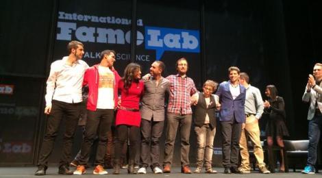 Finalistas de Famelab