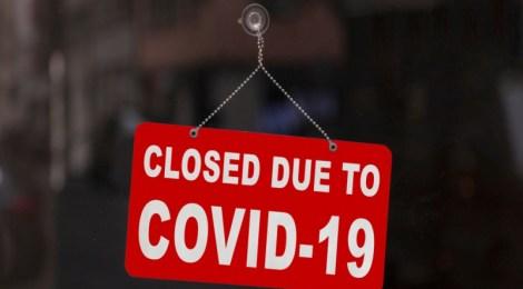 Cerrado por COVID