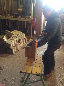 Making lots of birdboxes