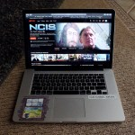 5 p.m. —Mckenzie's computer shows the next episode in the NCIS series, a show she's enjoyed watching to pass time during the quarantine, on Tuesday, April 14, 2020.