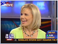 Fox commentator Gretchen Carlson
