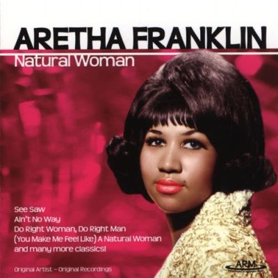 Aretha Franklin, Natural Woman album cover