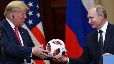 Soccer ball POTUS