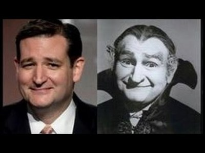 Ted Cruz - one of the Munsters?
