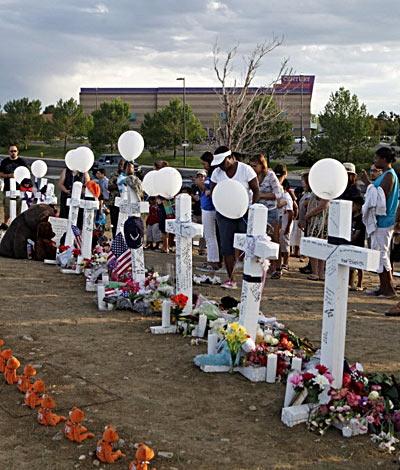 Aurora shootings memorial