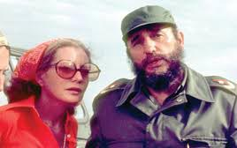 Barbara Walters with Fidel Castro