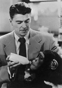 Ronald Reagan in Bedtime for Bonzo