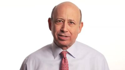 Goldman Sachs CEO Lloyd Blankfein in a video ad supporting same-sex marriage.