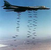 Bombs over LIbya