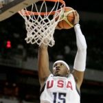 Basketball standout Carmelo Anthony