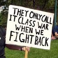 class warfare when we fight back