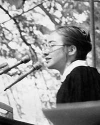 Hillary Clinton's commencement speech at Wellesley