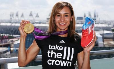 Heptathlon winner Jessica Ennis