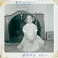 Hillary Clinton at Age 5