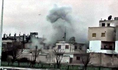 Homs rubble