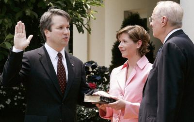 Kavanaugh swearing in