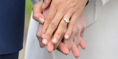 Meghan's engagement ring