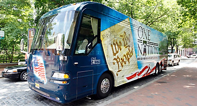 Palin family bus