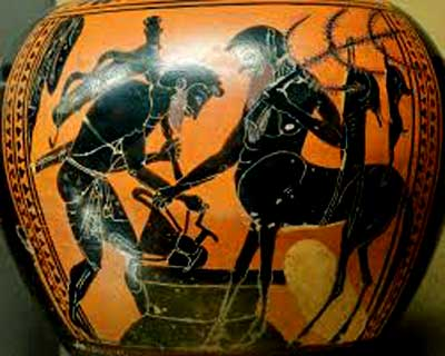 Pholus and Herakles