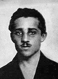 Gavrilo Princip, assassin of Archduke Franz Ferdinand