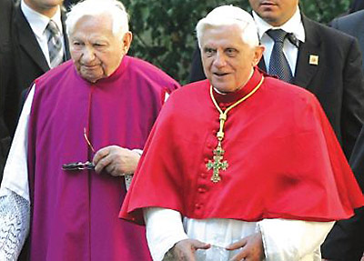 The Ratzinger brothers