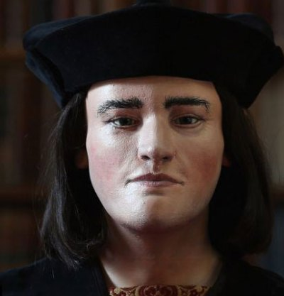 Richard III's face, reconstructed from his skull