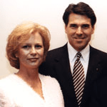 Anita and Rick Perry