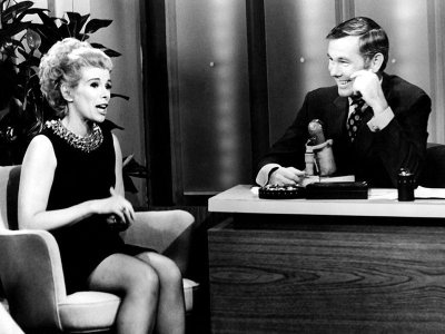 Joan Rivers and Johnny Carson