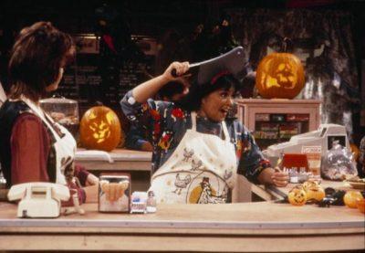 Roseanne show Halloween