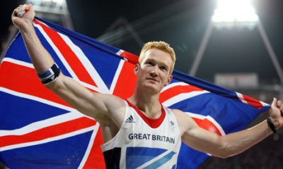 Greg Rutherford, gold medal long-jumper