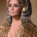 Taylor as Cleopatra