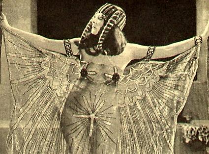 "Theda Bara, ""the Vamp"" America's first cinematic sex symbol—Lust in Scorpio"