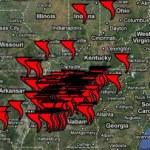 Tornado Map, April 27, 2011