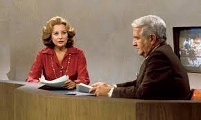 Barbara Walters and Harry Reasoner