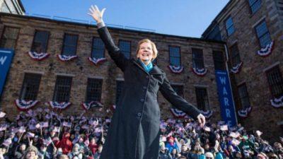 Elizabeth Warren in Lawrence, MA