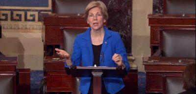 Elizabeth Warren speaking for the ACA in the Senate