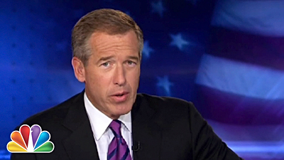 Brian Williams, on six-month suspension