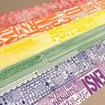 Pride flag print