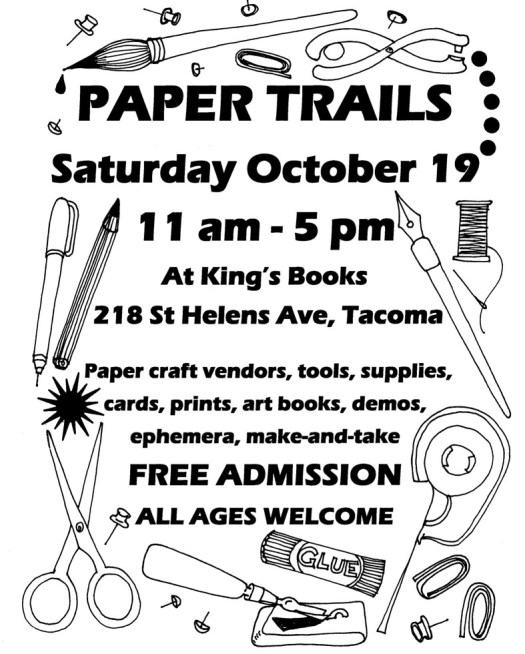 Paper Trails 2019, October 19