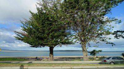 Drive-by beach