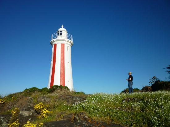 Stephen at Devonport lighthouse