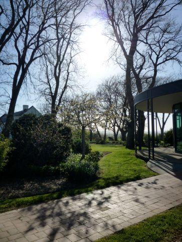 Gardens near the golf club