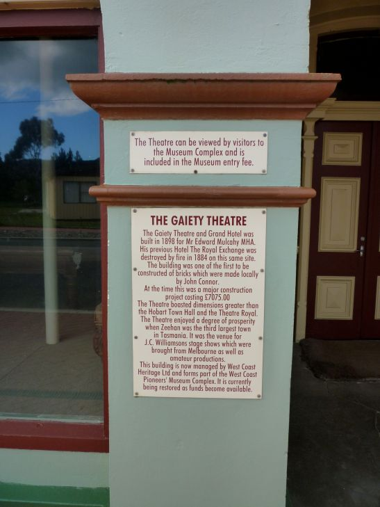 History of the Gaiety Theatre